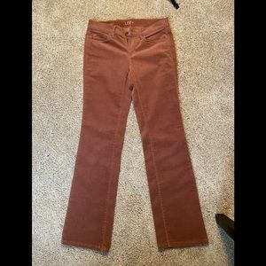 Boot Cut Pants- Brownish Auburn Color